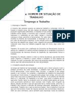 Texto 1 - Emprego e Trabalho