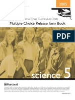 Science CCT Released Items (from State Dep't Of Education)