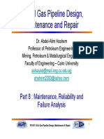 Part 8 Maintenance, Reliability and Failure Analysis
