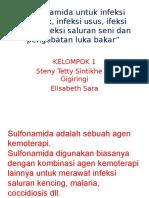 Sulfonamida Untuk Infeksi Sistemik, Infeksi Usus