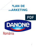 Plan de Marketing DANONE Romania
