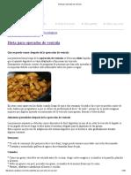 Dieta Para Operados de Vesícula