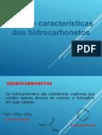 Tipos e Caracteristicas Dos Hidrocarbonetos