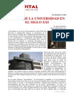 El Rol de La Universidad en El Siglo XXI