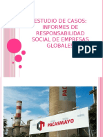Estudio de Casos - Informes de Responsabilidad Social de Empresas Globales