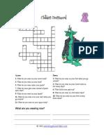 Clothing Crossword easy