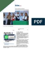 21-01-16 Firman convenio que busca disminuir pobreza en Sonora - Uniradio Noticias