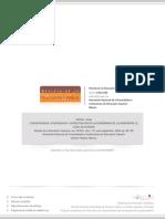 Redalyc Convergencia, Divergencia y Acreditación en La Enseñanza de La Ingeniería- El Caso de Europa