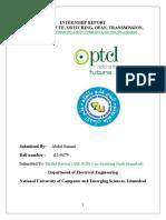 PTCL Internship Report-2015