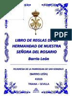 Libro de Reglas de La Hermandad de Nuestra Señora Del Rosario - 2015