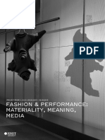 Fashion, Materiality and Performance
