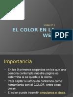 El color en la web