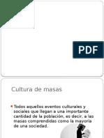 Caso de Cultura de Masas