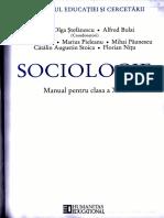 Manual Sociologie clasa a XI-a