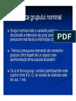 Curs 5 Grup Nominal