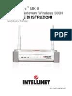 INTELLIGATE Usermanual Italiano v102