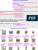 Tema 4. Ejemplos de Condensadores Fijos y Variables