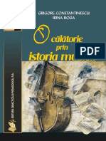 O Calatorie in Istoria Muzicii - Grigore Constantinescu, Irina Boga