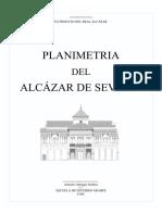 Planimetria Alcazar Sevilla