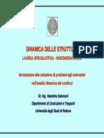 Dinamica Lineare FEM 3