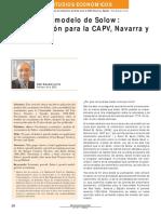 50 Años Del Modelo de Solow Una Aplicacion Para La CAPV, Navarra y España_Erauskin