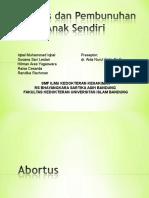 Abortus Dan Pembunuhan Anak Sendiri