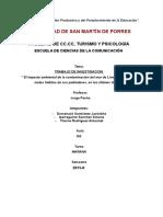 Trabajo de Estadística -El Impacto Ambiental de La Contaminación de Los Mares de Lima y Callao