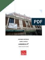 Informe histórico sobre el edificio de Lamarca Hnos.