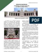 Gobierno de la Republica Mexicana organizo la Ceremonia del Aniversario Luctuoso CXXXVII de Don Benito Pablo Juárez García, con asistencia de las Autoridades Masónicas Reconocidas del País (Puente de Alvarado num 90)