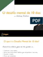 O Desafio Mental de 10 Dias  - Anthony Robbins.pdf