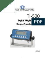 TI-500 UG 11