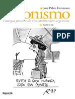 J.P. Feinmann - Filosofía política de una obstinación argentina