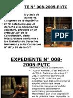 EXPEDIENTE N° 008-2005-PI EXP 0261-2003-AA