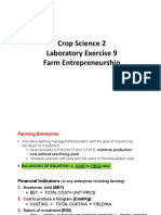 Crop Sci2 Exercise 9