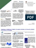 Organismos e Instituciones Cientificos Tecnologicos Dedicados a La Promocion, Difusion de La Ciencia y La Tecnologia