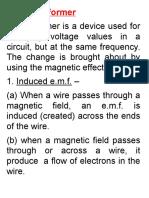 form 4 transformer notes for tv