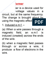 form 4 transformer notes for tv