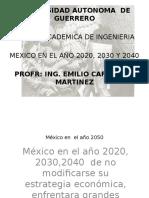 Mexico en Las Próximas Decadas