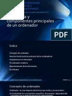 Bases de Datos Estructura y Componentes Principales de Un Ordenador