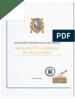 Reglamento Elecciones FUSM