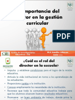 Rol Del Director en La Gestión Curricular_ Congreso Educativo 2014