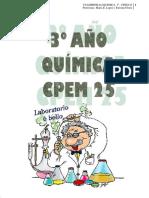 CUADERNILLO QUIMICA 3°