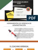 Herramientas de Gestión Administrativa