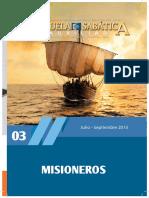 Auxiliar - Escuela Sabática - Tercer Trimestre 2015
