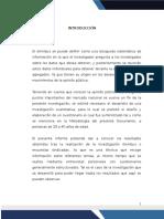 Tablas de Resultados sobre Omnibus - Investigación de Mercados