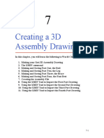 Ch 07 Creating a 3D Assembly Drawing