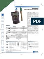 15 Hi 991001 y HI 991002 PHmetro Impermeable