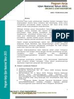 Program Kerja UN 2015