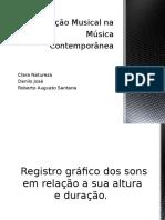Notação Musical Na Música Contemporânea Seminario