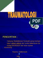 Traumatologi i
